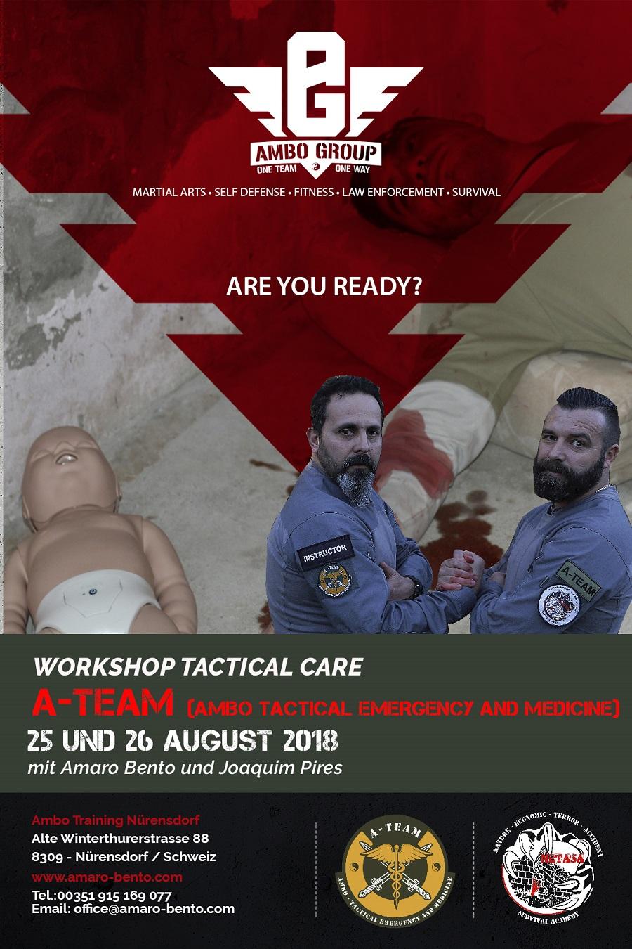 Erste Hilfe Ausbildung im Kontext von Katastrophen und Attentaten