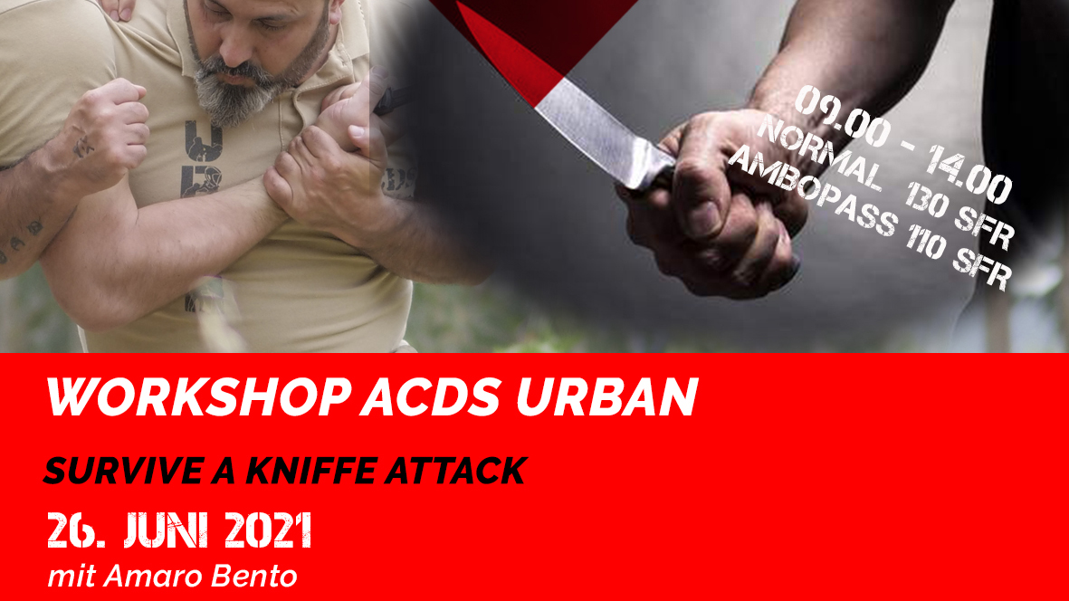 Survive a kniffe attack