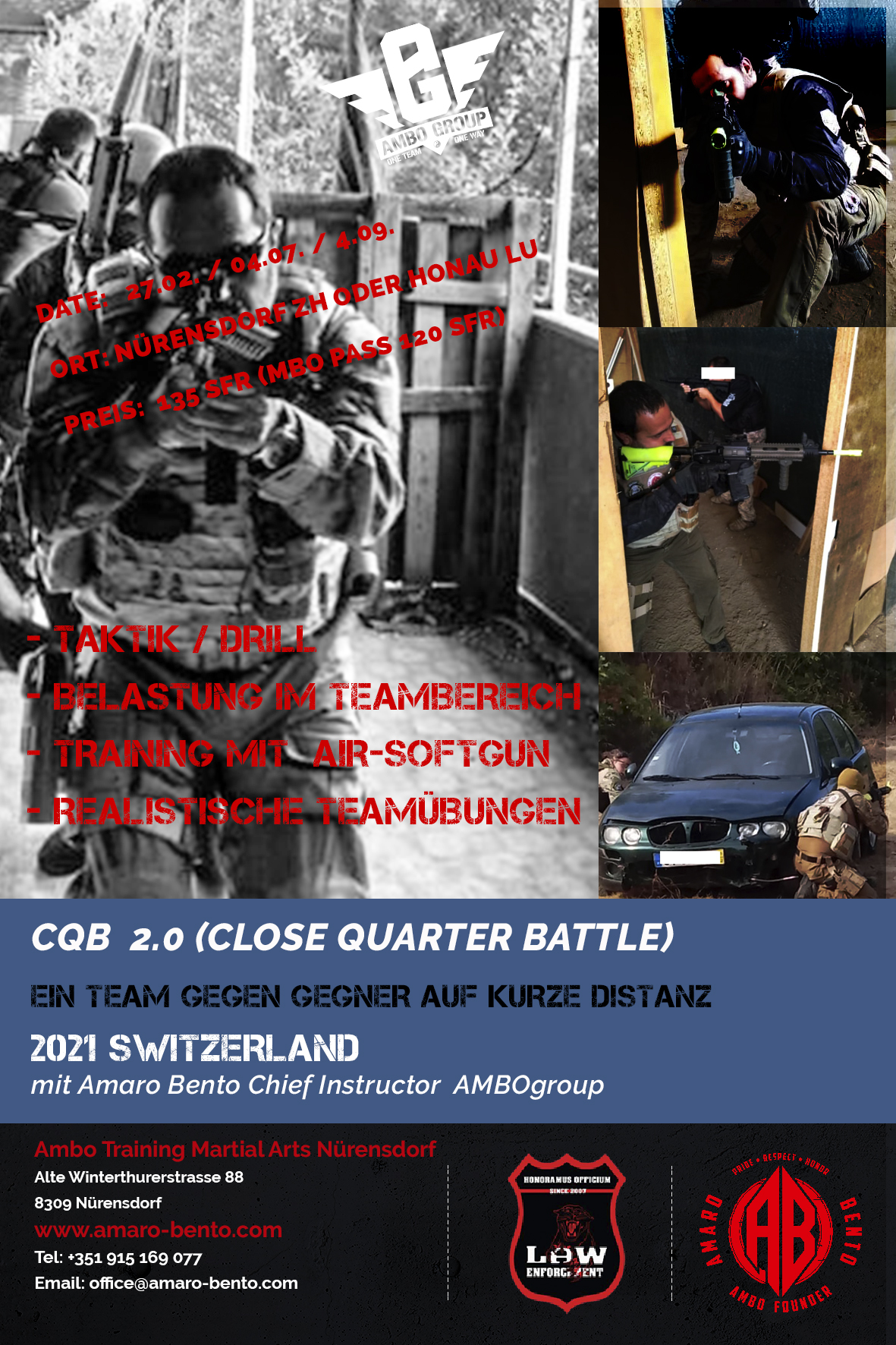 "CQB ""Close Quarter Battle"""